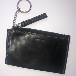 Coach Credit Card holder with keychain